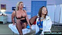 Lez Teen Girl (dani&phoenix) Get Toy Punish By Mean Lesbo movie-14