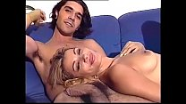 Vintage sex for this young amateur couple