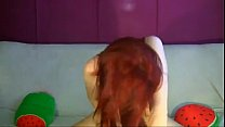Hot Redhead showing off on webcam - LoveHotCamGirls.com