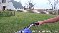 perfect teen real life farmers daughter riding ...