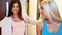 Hot Lesbian Piss Session With Little Caprice An