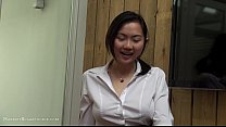 Anal Busty Asian Teen Office Lady Cosplay Fun