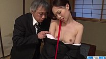 Misaki Yoshimura obedient babe fucked with toys - 69VClub.Com