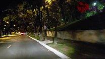 Cristina Almeida com desconhecidos no estacionamento da lojas Americanas em São Paulo, acompanhada do corno do marido que filma sua esposa safada - Dogging 3 - Parte 1/2 صورة