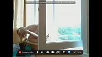 Подглядывание в окно за соседями