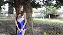 Teen cheerleader fucks pornhub video