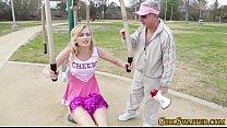Teen cheerleader fucks - 9Club.Top