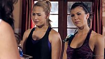 Carter Cruise, Tara Morgan and Adriana Chechik ...