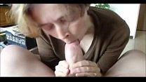 Amateur Grandma CFNM blowjob