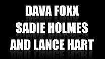 Dava Foxx makes Sadie Holmes snowball Lance Hart - 69VClub.Com