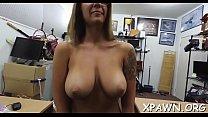 Bimbo non-professional is drilled porn image