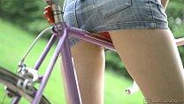 Liona Riding My Bike