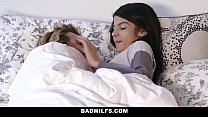 BadMILFS - Sheena Ryder Shares Stepsons Cock with Petite Teen