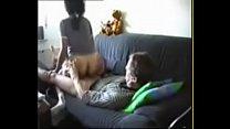 Latina Maid Fucks Boss on Couch's Thumb