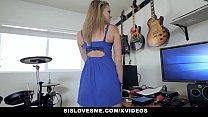 SisLovesMe - Cute Teen Stepsis Rides Stepbros Cock thumbnail