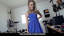 Image: SisLovesMe - Cute Teen Stepsis Rides Stepbros Cock