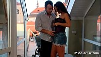 Stunning Euro babe Claudia Rossi loves