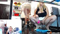 Secret duo ass and pussy dance with squirt on paper towels   WATCH ME NOW on blondikva.hot4cams.com