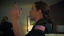 Big tits female cops riding threesome interracial - 9Club.Top