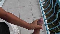 Pompino sul balcone fidanzata italiana porca thumbnail