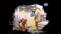 Funny Naked Prank  Girl Getting Naked in a Stor...