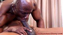 Black amateur assfucking ebony hunk