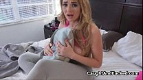 Bigtit blond teen caught and fucked thumb