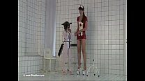 Tall girl play with short girl Preview