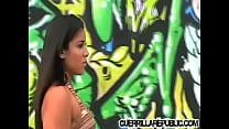 Sexy Latin girl gets very horny