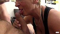 AMATEUR EURO - German Big Tits Matures Sucks And Rides Cock In Hardcore FFM Sex (Erna &  Adrienne Kiss) Vorschaubild