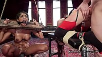 Hot Slaved Together Punished In The Upper Floor