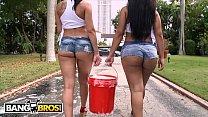 BANGBROS - Curvy Latin Babes Rachel Starr & Rose Monroe Getting Wet's Thumb