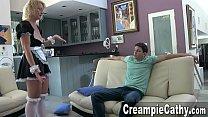 domkarin - Young guy creampies maid thumbnail