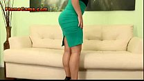 Big Tit Blonde In A Short Skirt preview image