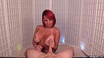 ov-Redhead milf POV handjob porn thumbnail