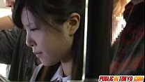 Japanese teen having sex in public
