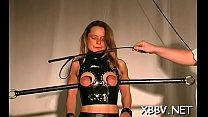 Messy minded girls are always asking for nipple torture