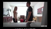 Blond maid Anna Marie is caught stealing and fucked as punishment pornhub video