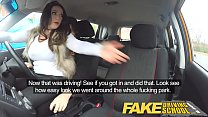 Fake Driving School busty jailbird goes on a wild ride! Preview