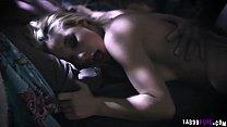 Small Hands shook Joanna Angels anal balls deep
