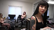 3 Sluts in a Dressing Room Make You Jerk Your Tiny Dick