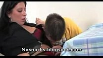 Mamma Getting Fucked By Young Stud in Kitchen 1 - NXsnacks thumbnail