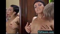 French Step Mom Seduces Young Son - I found the girl @ FiLFmom.com - download porn videos