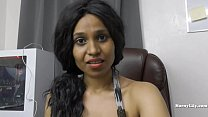 Desi hairy secretary pleases her boss role play Image
