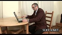 Sex lesson with hungry teacher Image