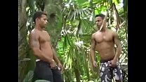 Latinos Andre and Darrien Jungle Fuck