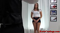 Curvy teenie roughly pounded at sexaudition