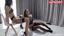 LETSDOEIT - Delicious Czech Bombs Indulge In Erotic Sex (Vanessa Decker & Little Caprice) صورة
