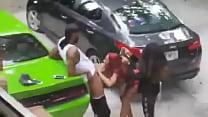 Twitter badselfiegirls Thot outside giving head thumbnail