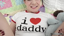 [Little Lupe] For FATHER'S DAY Play Time, She Wants Daddy's Cock thumbnail